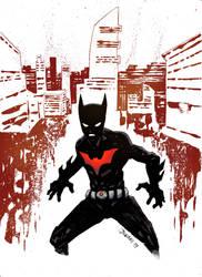 Batman Beyond 20th by thedarkpunch