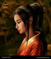 Tea Ceremony - face by Esmira