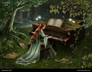 Forest piano by Esmira