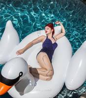 Pool Babe 2 by MissMandyMotionless