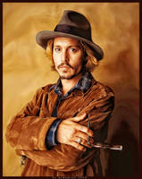 mr. johnny depp by aamamiah
