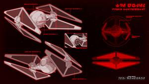 TIE Golem Drone Starfighter by Quinn-G