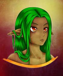 Daily upload 004: Colored Elf by Di0sma