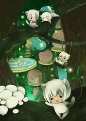 Thoto's forest by kamiyoshi