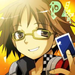 Persona4 Yosuke Hanamura by kamiyoshi