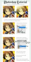 Like Anime light effect tut by kamiyoshi