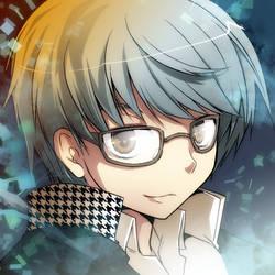 persona4 hero by kamiyoshi