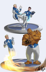 Project Rooftop: Fantastic Four Fashion Forward! by Ventimiglia
