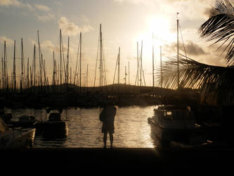Sunset Sails by Daft-Perception