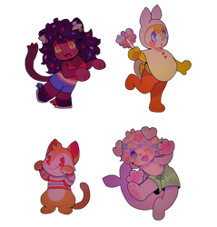 Chibis? In my MARIO!!!!!!!!!!!!!!! ? by softmio