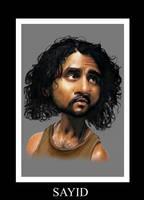 Sayid by Yohan-2014