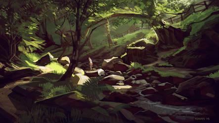 Glendalough by Yohan-2014