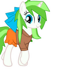 Minty root with normal clothes by Digigex90