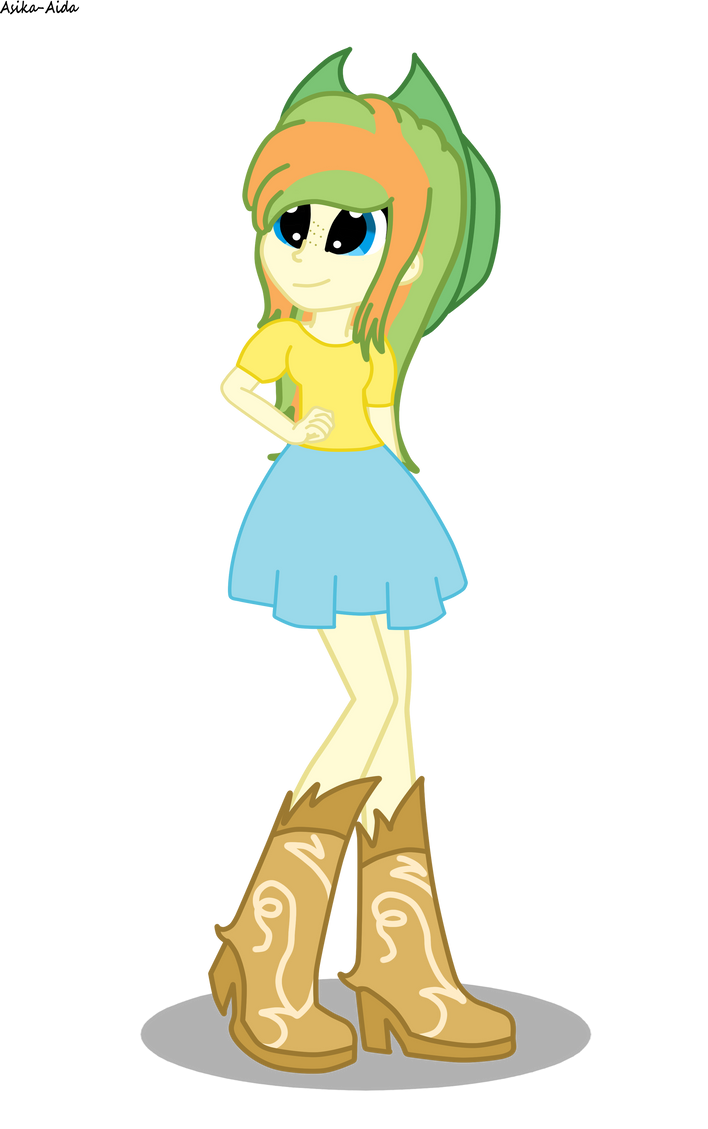 Apple Honey EQG (Old outfit) by Digigex90