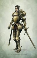 Armor Girl by editmode