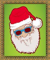 Santa Hipster Claus by Ainon