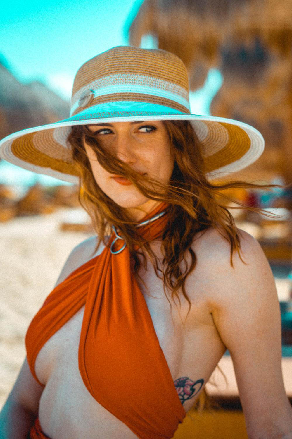 Windy at the beach! by piperblush