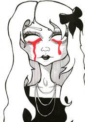 ZombieGirl by BiancaNoodelijk