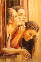 3 girls by amir-gallery