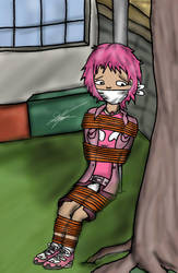 Aelita in distress by Atmu