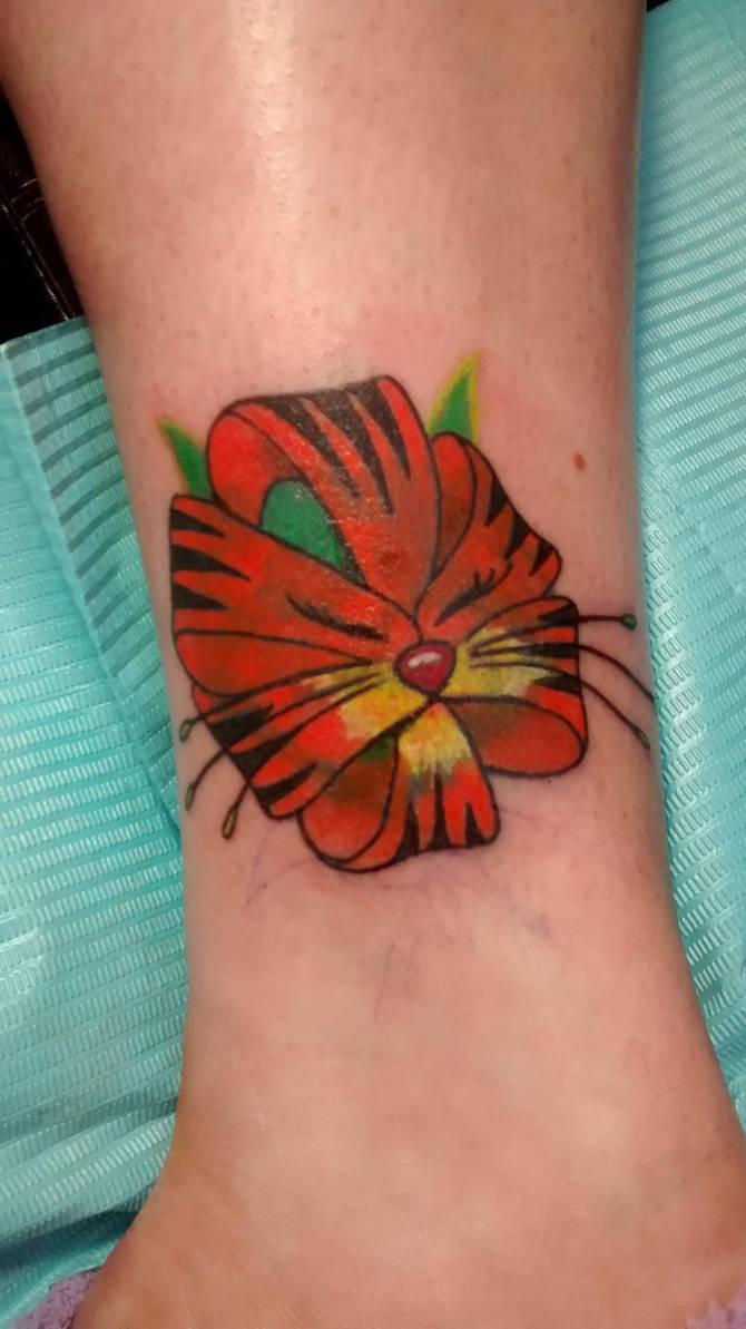 Tiger Lily Flower Tattoo By Mentalstateofmind On Deviantart