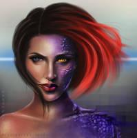Mystique by meganparkes
