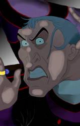 Claude Frollo Lockscreen by Moe-Machine