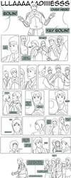 Legend of Korra - Little Fan :Bolin Comic: by lledra