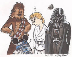 A New Hope (ver1) by trippinspacemonkeys