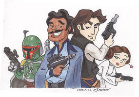 Scoundrels(ver1) by trippinspacemonkeys