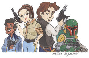 Scoundrels(ver2) by trippinspacemonkeys