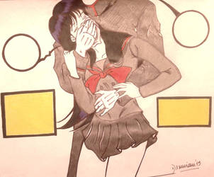 Cloroformo: Ray 2 (Sailor Marte)/Color/Terminado. by Dxmian