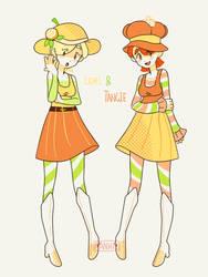 Citrus Twins by Mannievelous
