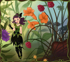 Forest Goddess Athael by OperaticAnimeNimue
