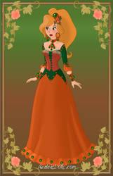 Pumpkin Girl by OperaticAnimeNimue