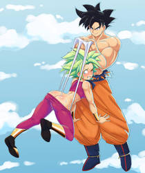 Kefla's Embarrassing Wedgie! by Polydot