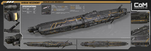 Akrian Dreadnought by PowerPointRanger