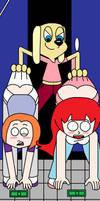 Double Wedgies by Animekid0839