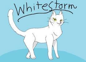 sss warrior cats Whitestorm by mootoss