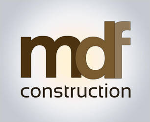 MDF Construction logo by marame