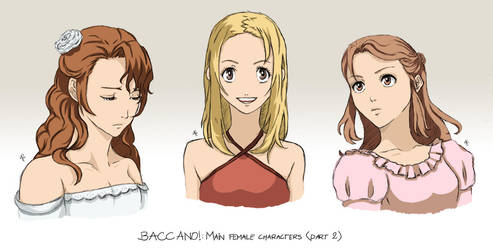 BACCANO characters part 2 by NicoleCover