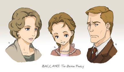 BACCANO characters part 3 by NicoleCover