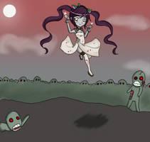 Zombie Chibi by Mimayu
