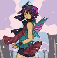 Mika Blossoms by Mimayu