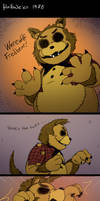 FNAF - Hallowe'en Special 1: The Wolf and the Bear by Atlas-White