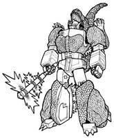 Gojira Prime design by Black-Goji