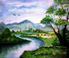 River 002 by Shashikanta