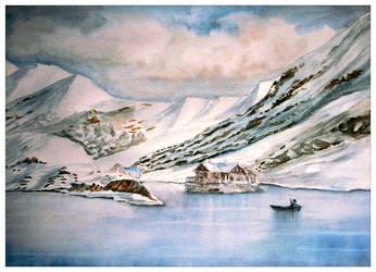 Lake house by Shashikanta