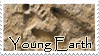 Young Earth Creationist Stamp by ThalionKoi