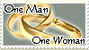 One Man, One Woman Stamp by ThalionKoi